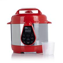 Elite Bistro 2qtpressurecooker Red