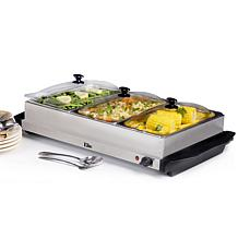 Elite Gourmet 3 x 2.5qt. Buffet Server