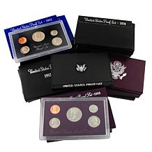 First 25 Years of S-Mint Proof Sets 1968 to 1992