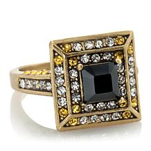 "Heidi Daus ""Fearless Beauty"" Crystal Square Ring"