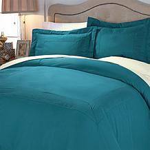 Highgate Manor 3-piece Microfiber Duvet Set - F/Q or K