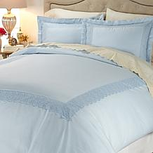 Highgate Manor Easy Care 400TC 3-piece Duvet Set
