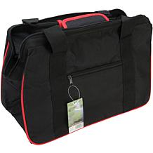 JanetBasket Black/Red Eco Bag - 18X10X12