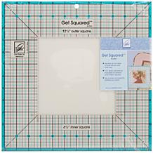"June Taylor Get Squared Ruler with 12-1/2"" Outer"