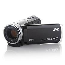 "JVC Everio Wi-Fi 40X Zoom 3"" Touchscreen HD Camcorder"