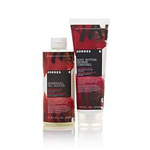 Korres Japanese Rose Shower Gel and Body Butter Duo
