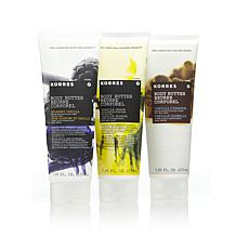 Korres The Vanillas Body Butter Trio