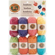 Lion Brand Yarn Bonbons 8 Pack - Brights