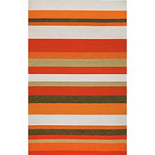 "Liora Manne Ravella Stripe - Orange 42""L x 66""H"