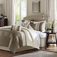 Madison Park Amherst Comforter Set Queen Natural