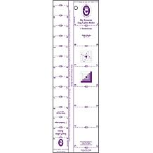 Marti Michell Log Cabin Ruler - 1 to 2 Strips