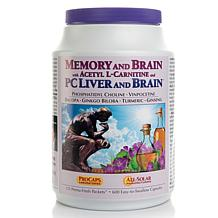 Memory & Brain w/ALC and PC Liver/Brain -120 Packets AS