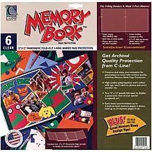 Memory Book Panoramic Fold-Out Page Protectors