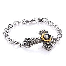 Michael Anthony Jewelry® NativityCross Pendant Bracelet