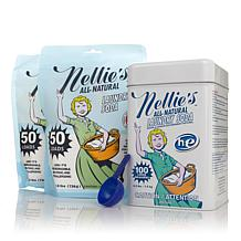 Nellie's All-Natural Laundry Soda Tin and Refill