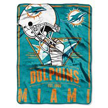 "NFL Officially Licensed Soft & Cozy 60"" x 80"" Throw"