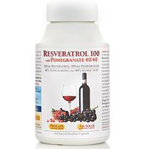 Resveratrol-100 with Pomegranate 40:40 - 360 Capsules