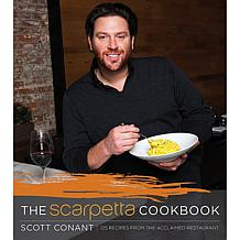 "Scott Conant ""The Scarpetta Cookbook"" - Handsigned"