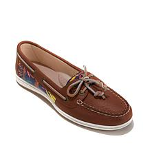 Sperry Firefish Leather And Canvas Boat Shoe