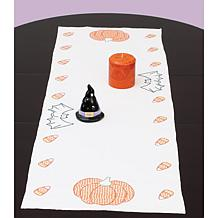 Stamped Table Runner/Scarf - Halloween