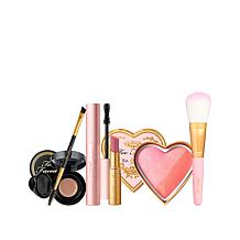 Too Faced All You Need Is Love & Makeup 5pc Collection