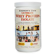 Ultimate Whey Protein Isolate - 25 Servings