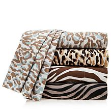 Vern Yip Home Animal Print Microfiber Sheet Set