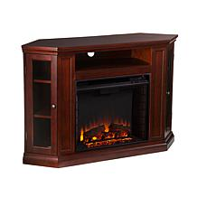 Wimberly Convertible Media Fireplace - Cherry