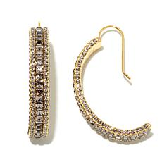 "AKKAD ""La Bella Luna"" C-Hoop Earrings"