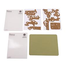 Anna Griffin® Terrific Titles Cutting Dies & Folders
