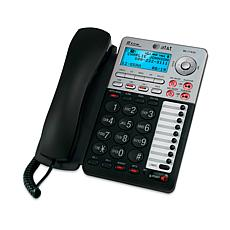 AT&T Corded 2-Line Phone with Digital Answering Machine