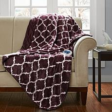 Beautyrest Heated Knitted Microlight Oversized Throw