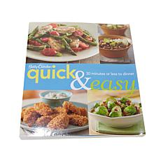 """Betty Crocker Quick and Easy"" Cookbook"