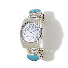 Chaco Canyon Southwest Kingman Turquoise Cuff Watch