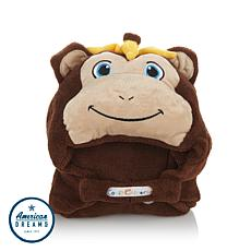 Comfy Critters Wearable Stuffed Animal Hooded Blanket