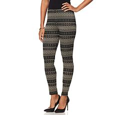 Curations Caravan Fair-Isle Print Legging