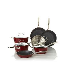 Curtis Stone DuraPan 10pc Forged Nonstick Cookware Set