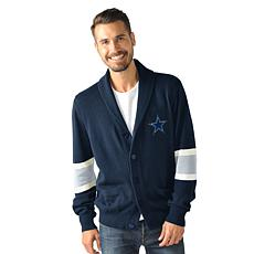 Dallas Cowboys Rover Cotton Cardigan Sweater by Glll