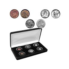 Double-Dated Penny, Nickel and Dime Coin Set