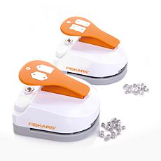 Fiskars 2pk Tag Maker 3-in-1 Punch with Eyelet Setter
