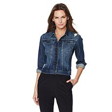 G by Giuliana Luxe Stretch Denim Jean Jacket