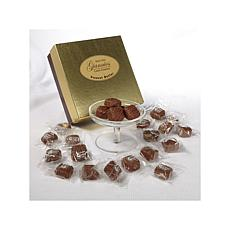 Giannios 1lb. Chocolate Peanut Butter in a Golden Box