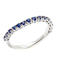Gold & Diamond Source® 14K 0.49ctw Sapphire Flex Ring