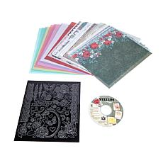 Hot Off The Press Vellum Magic with Dazzles and DVD
