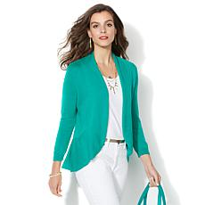 IMAN Global Chic Luxury Resort Lightweight Cardigan