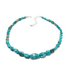 "Jay King Graduated Turquoise Bead 20-1/4"" Necklace"
