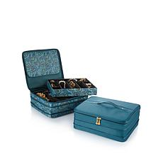 "JOY ""Jewel Kit Duo"" 2-Tier Jewelry Box Set of 2"