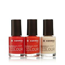 Korres Nail Color Trio - Tropical Paradise