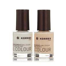 Korres Nudes Nail Color Duo