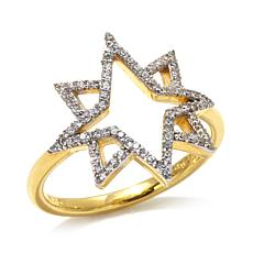 "Kristin Chenoweth ""From Above"" Pavé Star Ring"